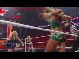 WWE Eve Torres and Kelly Kelly VS Divas Of Doom (Beth Phoenix &amp Natalya)