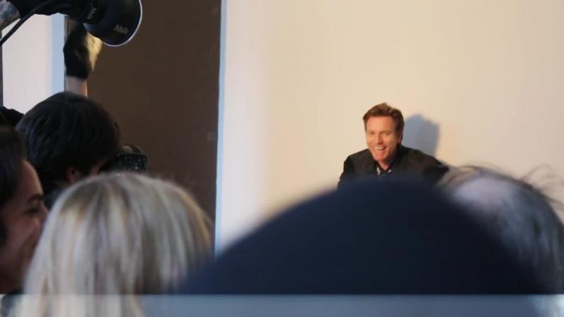 go behind the scenes at ewan mcgregor's cover shoot