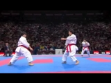 (1-2) Karate Japan vs Italy. Final Female Team Kata. WKF World Karate Championships 2012