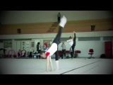 тренировка гимнасток