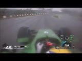 Формула-1, 2014, Япония, Сузука. последние круги перед остановкой гонки